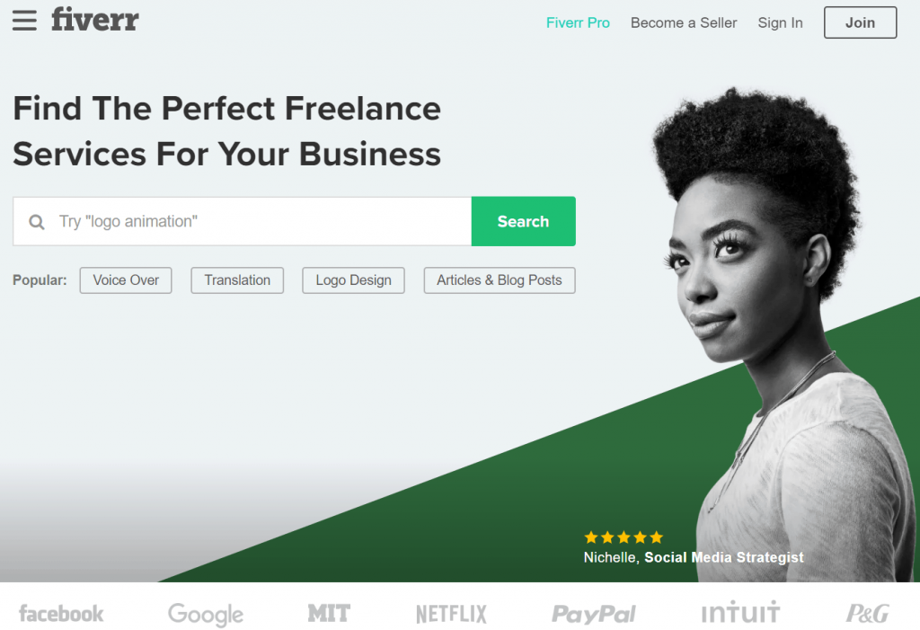 This image has an empty alt attribute; its file name is fiverr-review-1024x701.png